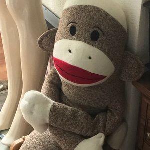 "MAXX 48"" Original Sock Monkey Giant Plush Animal💋"